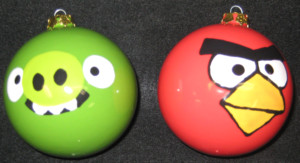 Summer Camp 2013...Angry Bird Ornaments!!